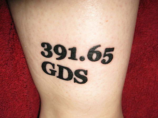 Number Tattoos Designs, Ideas and Meaning