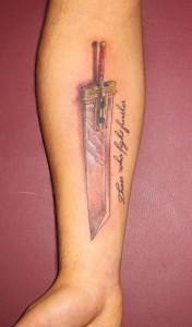 Tattoo Sword