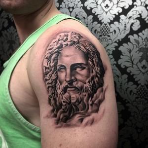 Tattoo of Greek Gods
