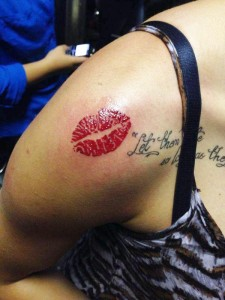 Tattoos Kiss