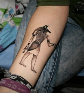 Tattoos of Anubis
