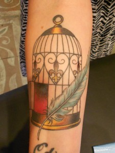 Tattoos of Bird Cages