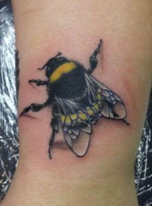 Tattoos of Bumble Bees