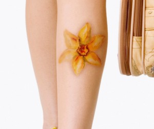 Tattoos of Daffodils