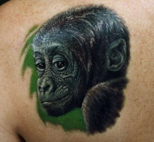 Tattoos of Gorillas