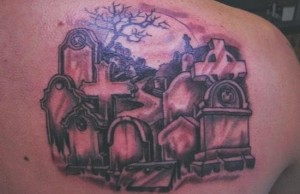 Tattoos of Graveyards