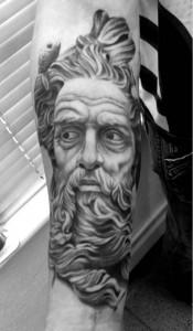 Tattoos of Greek Gods