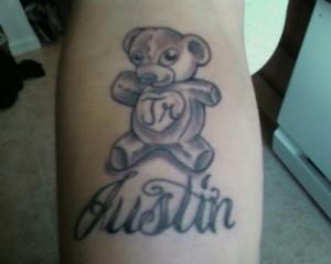 Tattoos of Teddy Bears