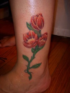 Tattoos of Tulips