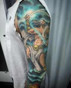 Tattoos of Zeus