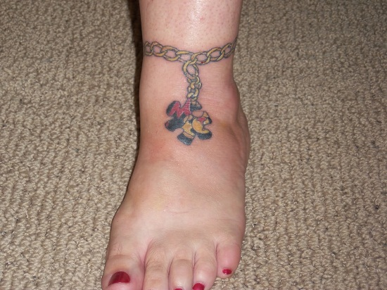 Ankle Bracelet Tattoos Designs, Ideas and Meaning ...