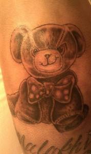 Teddy Bear Tattoo Designs