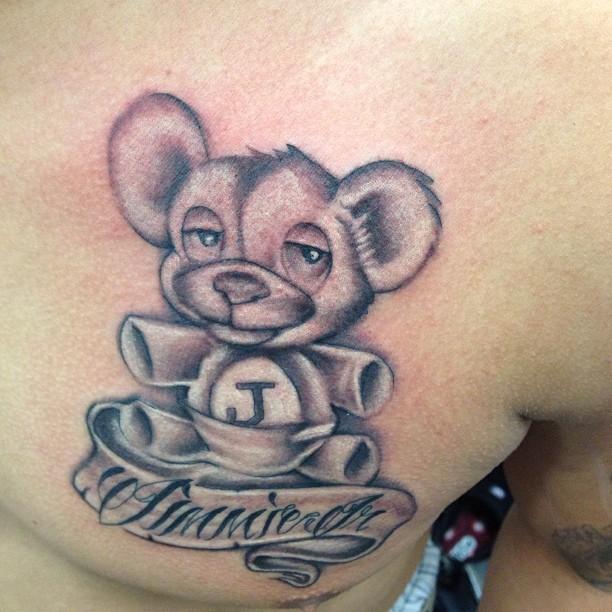 Simple bear tattoos