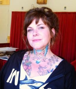 Throat Tattoos for Girls