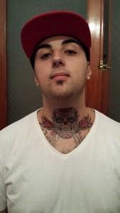 Throat Tattoos for Men