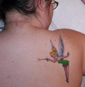 Tinkerbell Tattoos Pictures