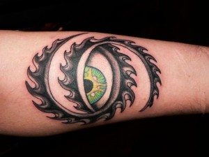 Tool Eye Tattoo