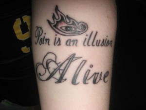 Tool Lyric Tattoos