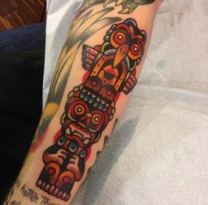 Totem Pole Tattoo Images