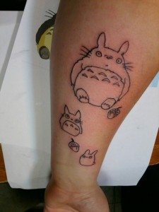 Totoro Tattoo Ideas
