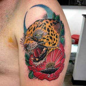Traditional Jaguar Tattoo