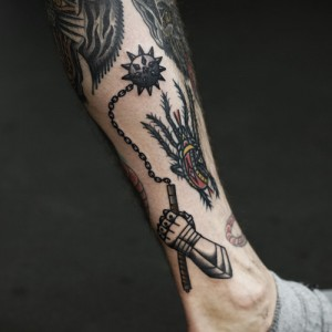 Traditional Medieval Tattoos