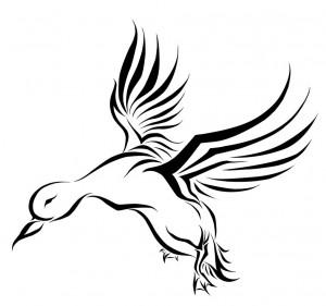 Tribal Duck Tattoo