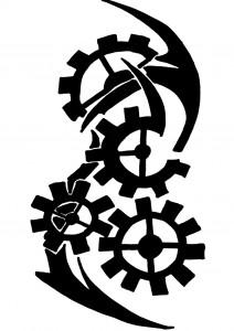 Tribal Gear Tattoo