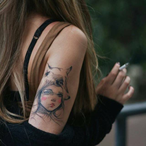 Tattoo on tricep