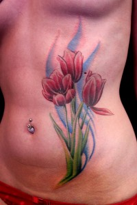 Tulip Tattoo Designs