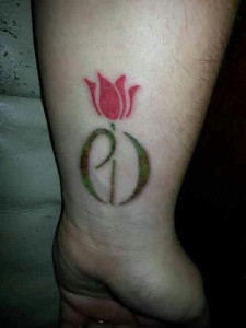 Tulip Tattoos on Wrist