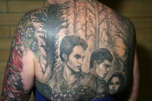 Twilight Back Tattoo