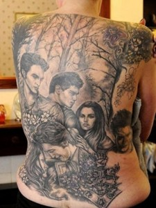 Twilight Movie Tattoo