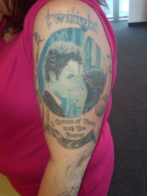 Twilight Tattoos Designs, Ideas and Meaning | Tattoos For You
