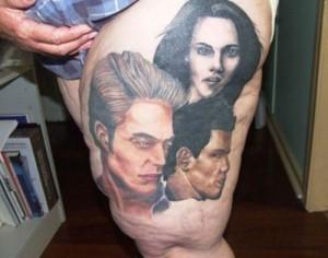Twilight Tattoo Woman