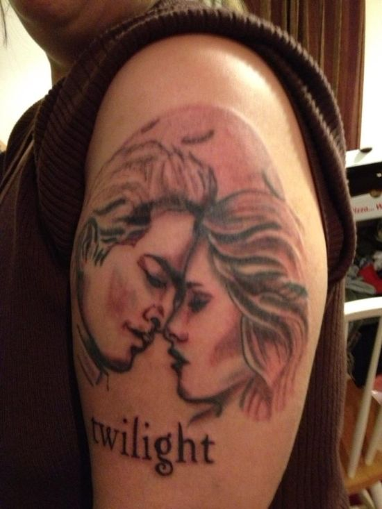 Twilight tattoos designs ideas and meaning tattoos for you for Twilight movie tattoo