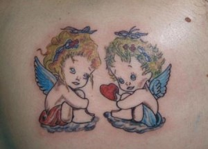 Twin Angel Tattoos