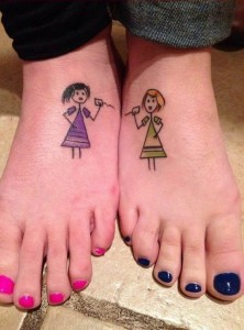 Twin Sister Tattoos