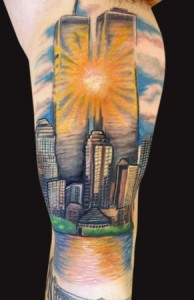 Twin Towers Tattoo