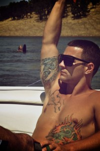 Underarm Tattoo Male