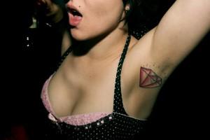 Underarm Tattoo for Women