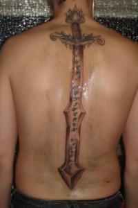 Viking Sword Tattoo