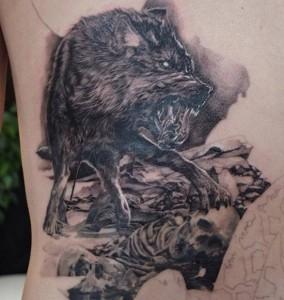 Werewolf Tattoo Designs