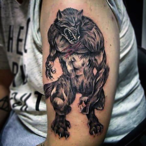 werewolf tattoos designs ideas and meaning tattoos for you