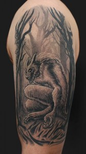 Werewolf Tattoo Images