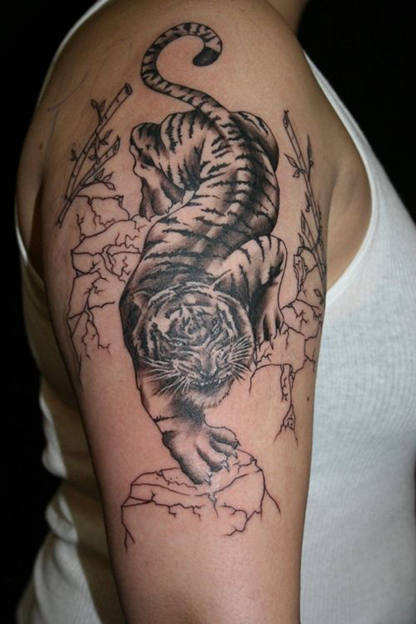 1d21271907204 White Tiger Tattoos Designs, Ideas and Meaning | Tattoos For You