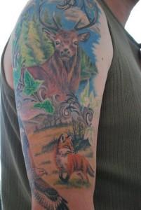 Wildlife Sleeve Tattoos