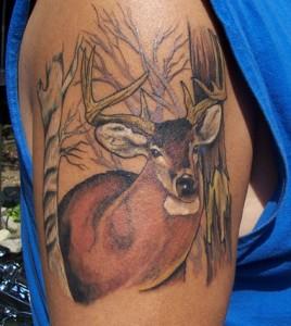 Wildlife Tattoos Deer