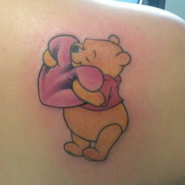 Winnie The Pooh Tattoos Designs, Ideas And Meaning