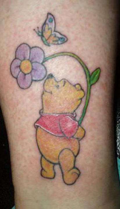 Winnie the pooh tattoos designs ideas and meaning for Winnie the pooh tattoo